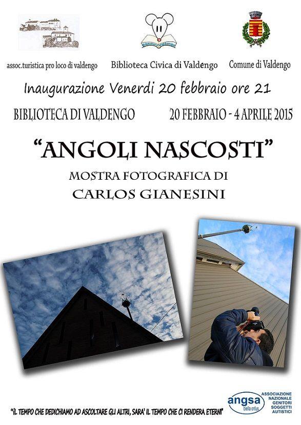 Angoli nascosti mostra fotografica Valdengo dal 20 febbraio al 4 aprile