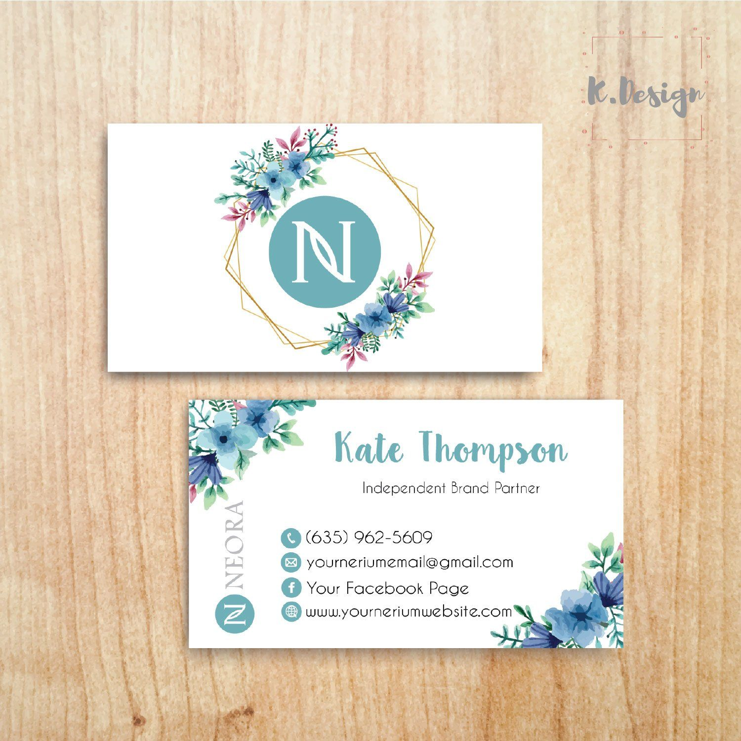 Neora Business Cards Personalized Neora Template Ne06 Photo Business Cards Custom Business Cards Personal Cards