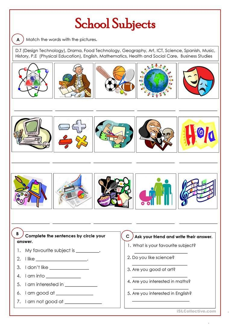 17++ Science worksheets esl Top