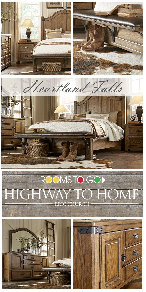 Eric Church Furniture Collection : church, furniture, collection, Heartland, Falls, Bedroom,, Inspired, Music, Lifestyle, Church,, Nostalgic, Rooms, Furniture,, Bedroom