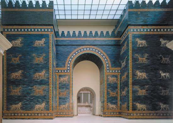 La Puerta De Isthar Museo De Pergamo Berlin Antike Geschichte Archaologie Ischtar Tor