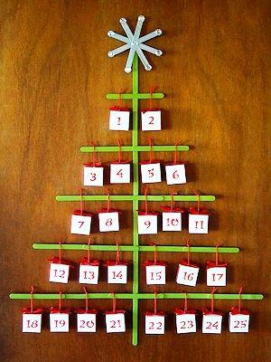 kalendář Vánoce - adventní kalendář Pinterest Keepsakes