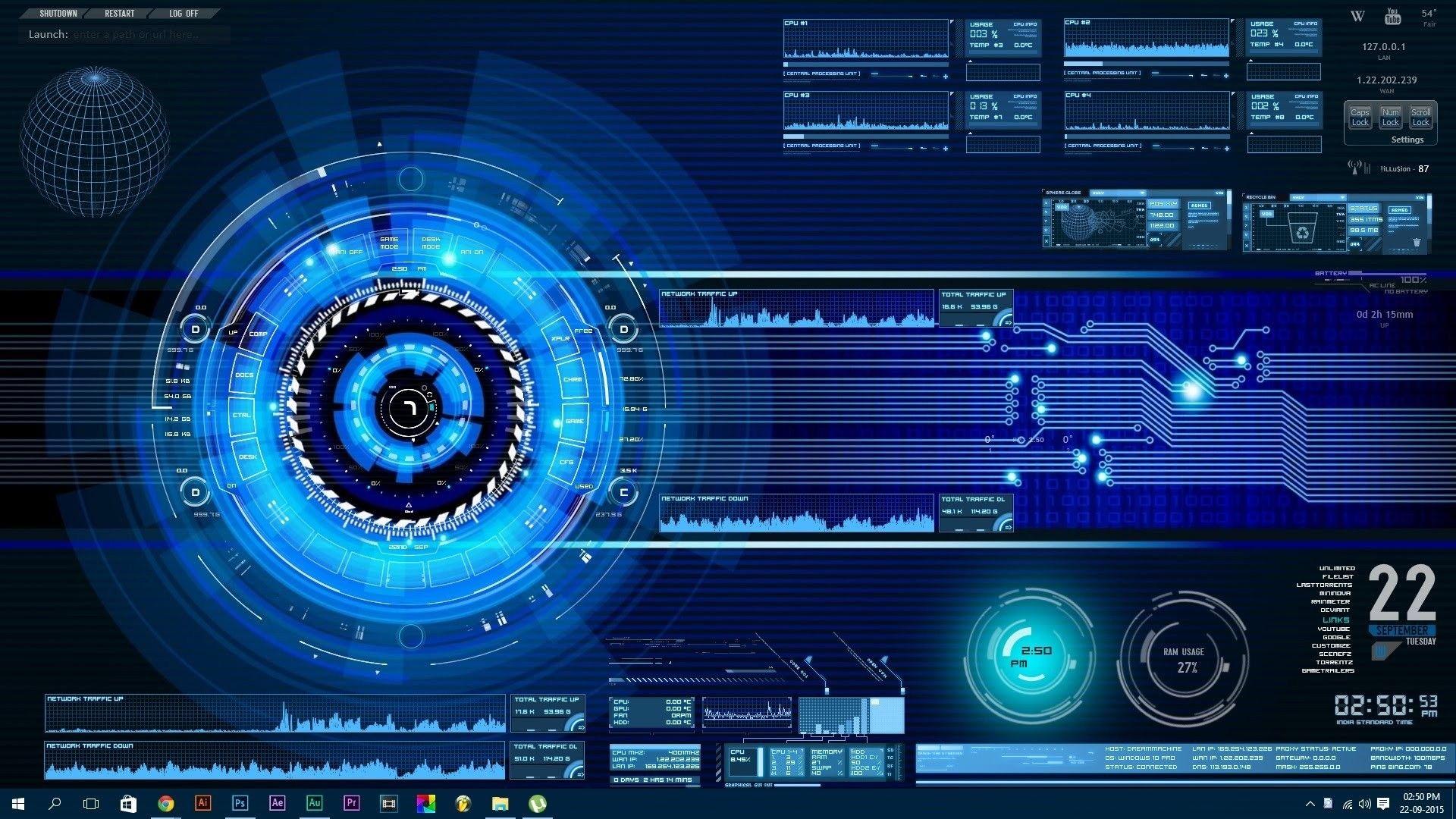 Elegant Animated Desktop Windows 10 Check More At Https