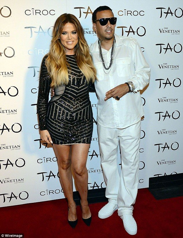 Another one: Khloe also previously dated another ex of Trina's fellow rapper French Montan...