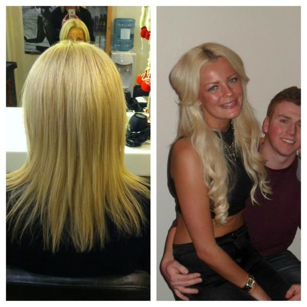 Racoon International Hair Extensions By Hair By Helena Before And