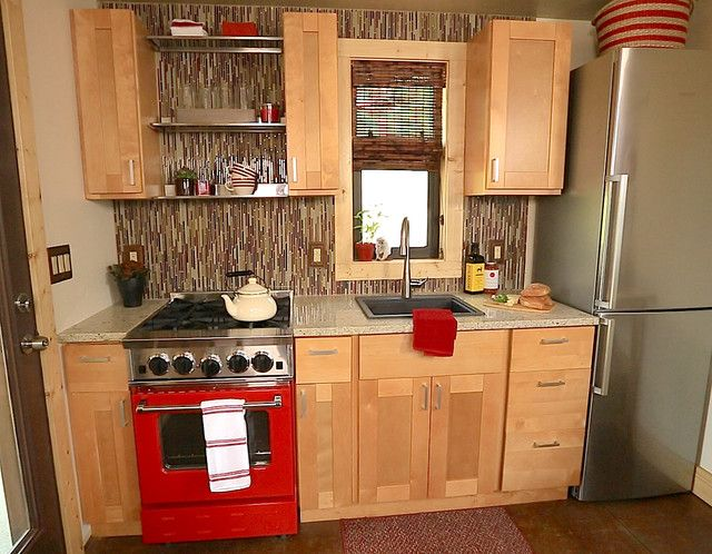 Captivating Comtemporary Tiny Home Kitchens 5 Tiny House Nation In A Home Thatu0027s Only  ...