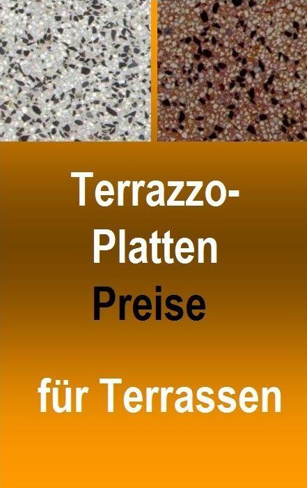 Preise Für Terrazzoplatten Xxcm Angebote Balkon Bau - Preise für gehwegplatten