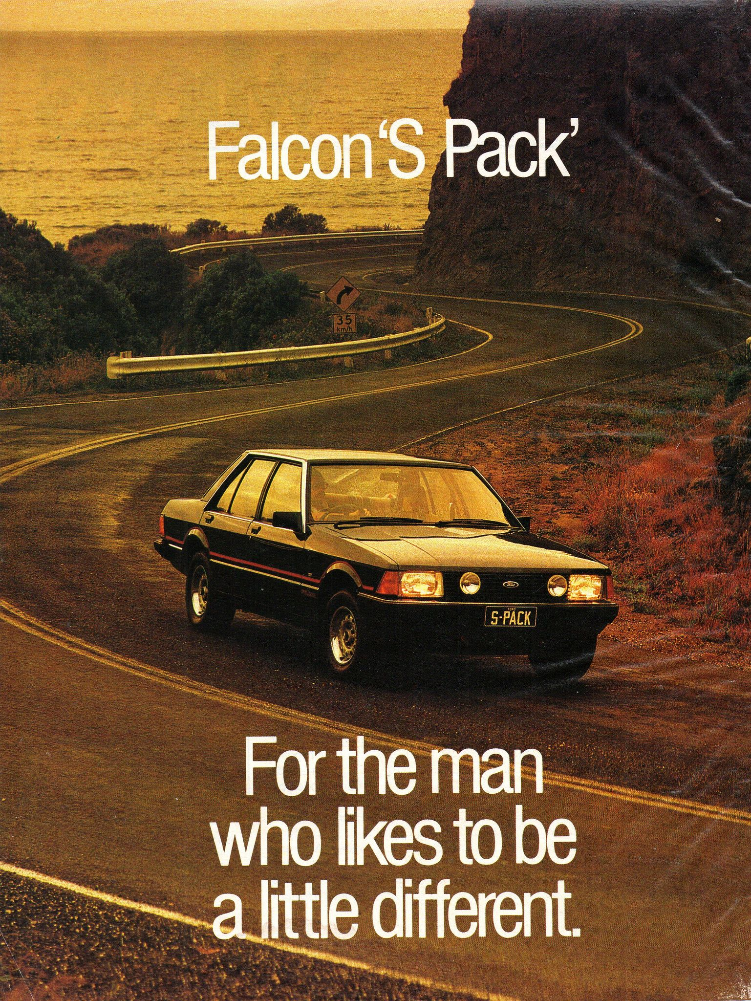 1981 Xd Ford Falcon S Pack 4 1 Litre Sedan Page 1 Aussie Original Magazine Advertisment Ford Falcon Ford Racing Australian Cars