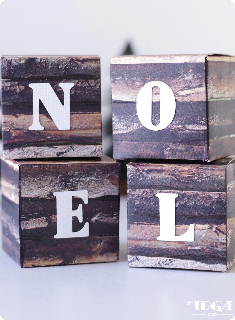 déco : mes cubes | noël / christmas | pinterest | noel, deco et deco