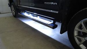 Running Board Side Step Led Light Kit Chevy Dodge Gmc Ford Truck