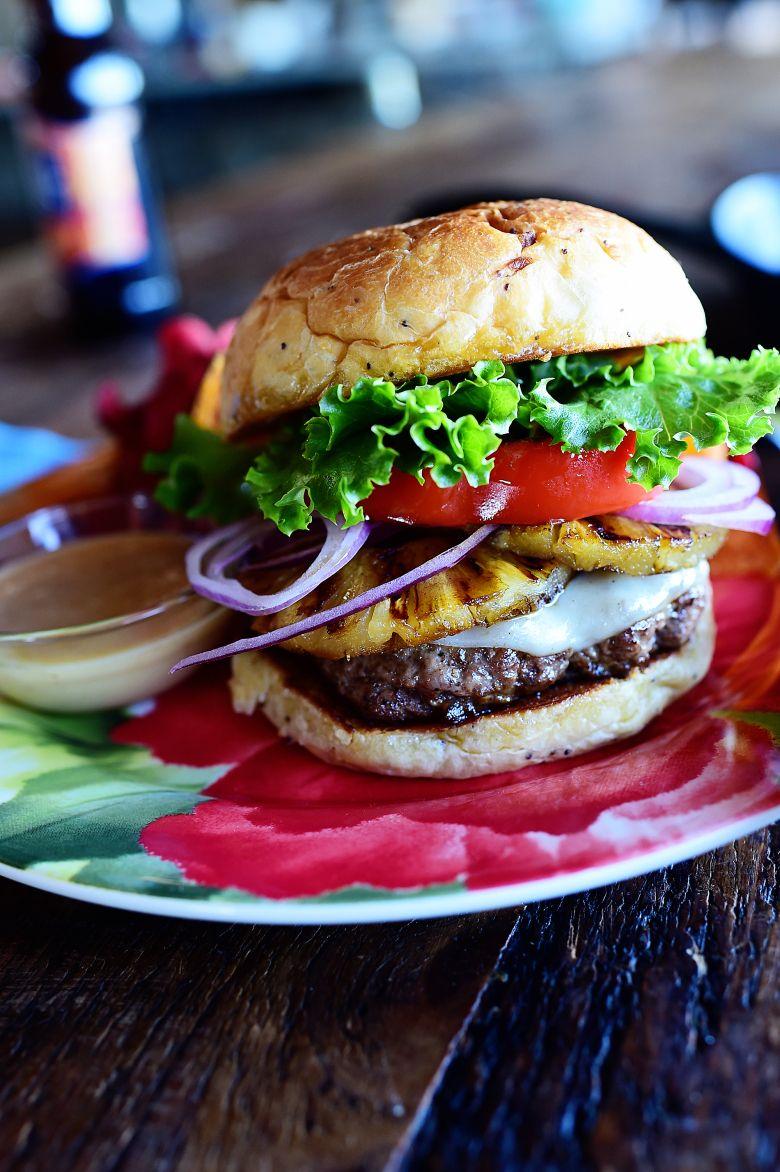 Hawaiian Burgers Recipe Hawaiian Burger Food Recipes
