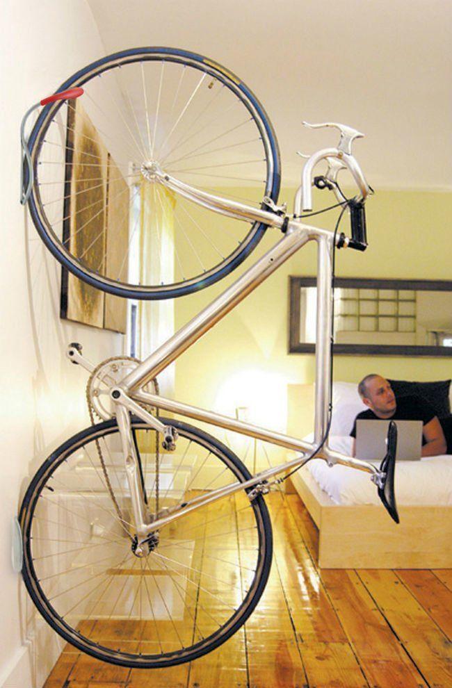 How To Wall Mount A Bike Wall Mount Bike Rack Bike Storage