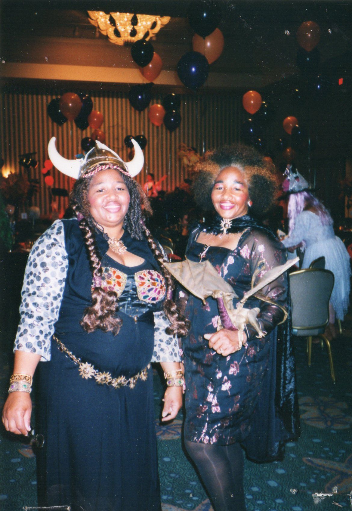 Oh Yeah we were in it-- and Way before- Game of Thrones with MY dragon. Marilynn Young and her sister Marjorie.