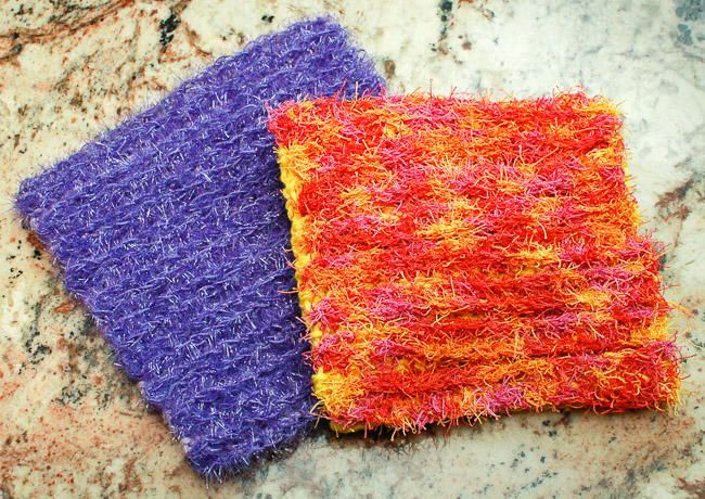 Double-Sided Scrubby Dishcloth | Crochet, Crochet kitchen and ...
