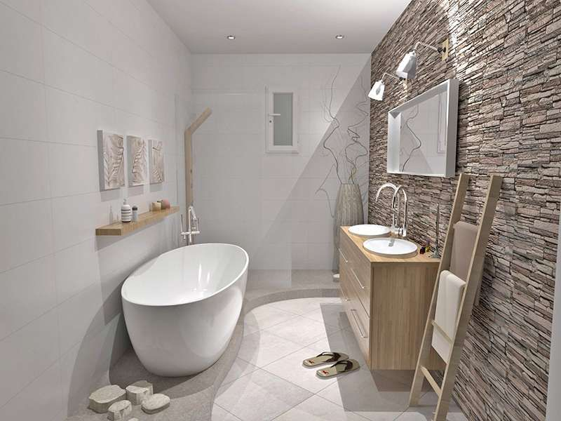 Beautiful Salle De Bain Inspiration Zen Contemporary Amazing ...