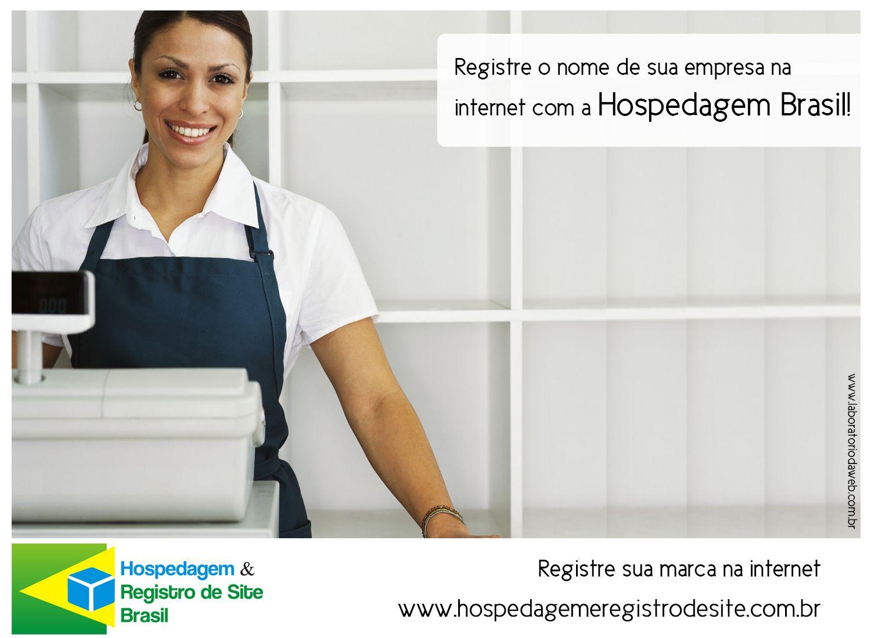 Registre o nome de sua empresa na internet! Confira todos os nossos planos! www.hospedagemeregistrodesite.com.br www.facebook.com/HospedagemdesiteBrasil