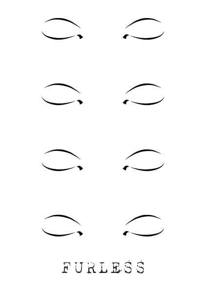 FREE FACE DESIGN MAKEUP TEMPLATES , Furless
