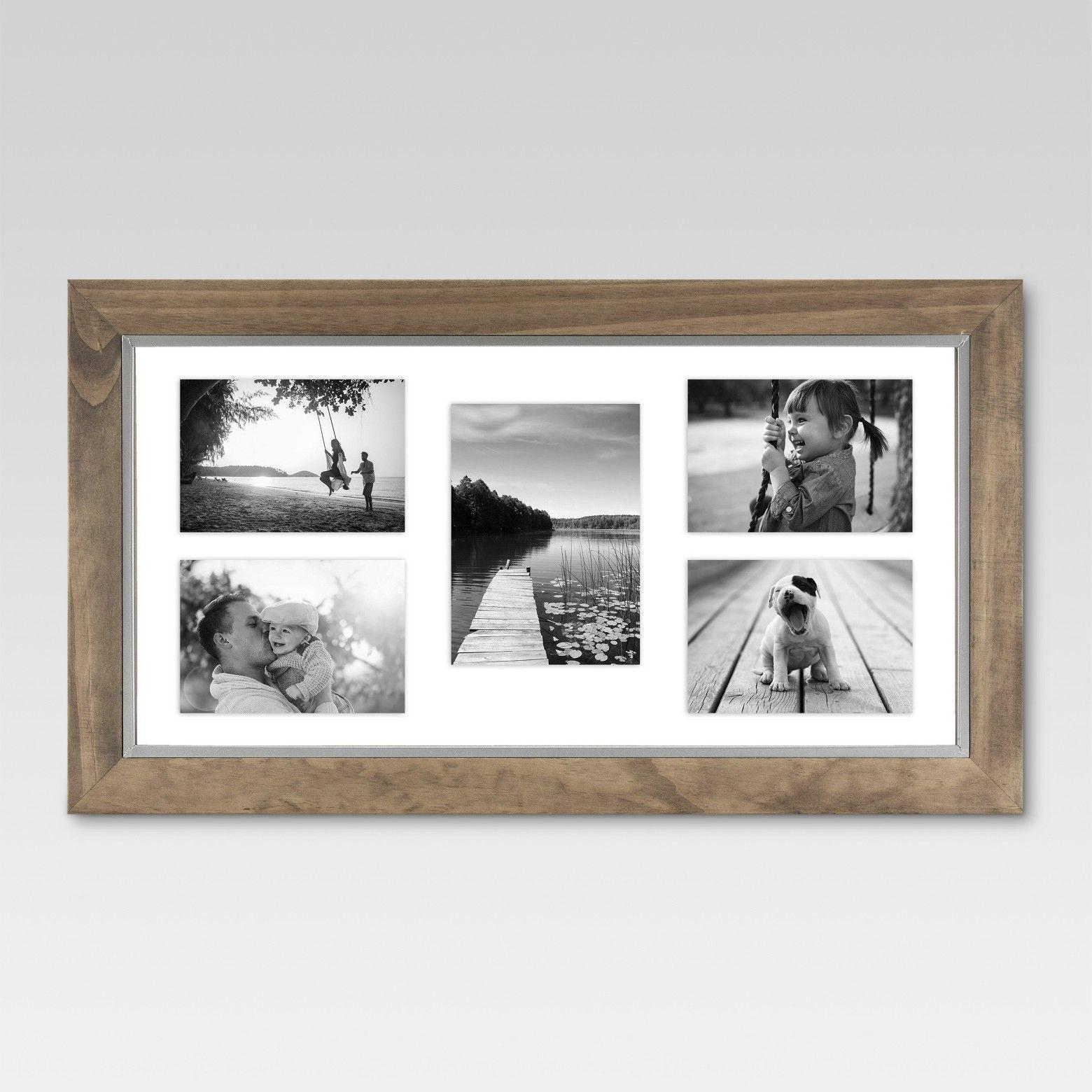 Threshold Multiple Image Frame MULTIPLE Brown | Multiple images