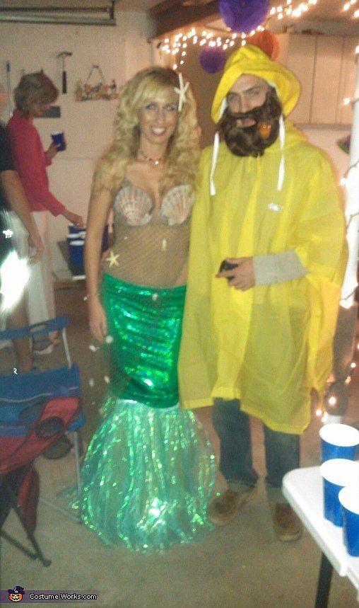 Mermaid and Fisherman Creative, Costume ideas and Ariel