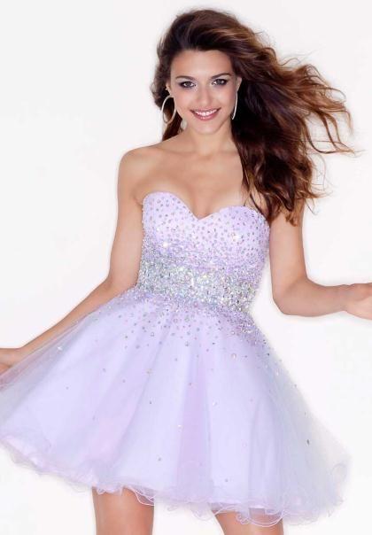 613ee58dc4 Mori Lee Sticks   Stones Short Dresses at Prom Dress Shop.