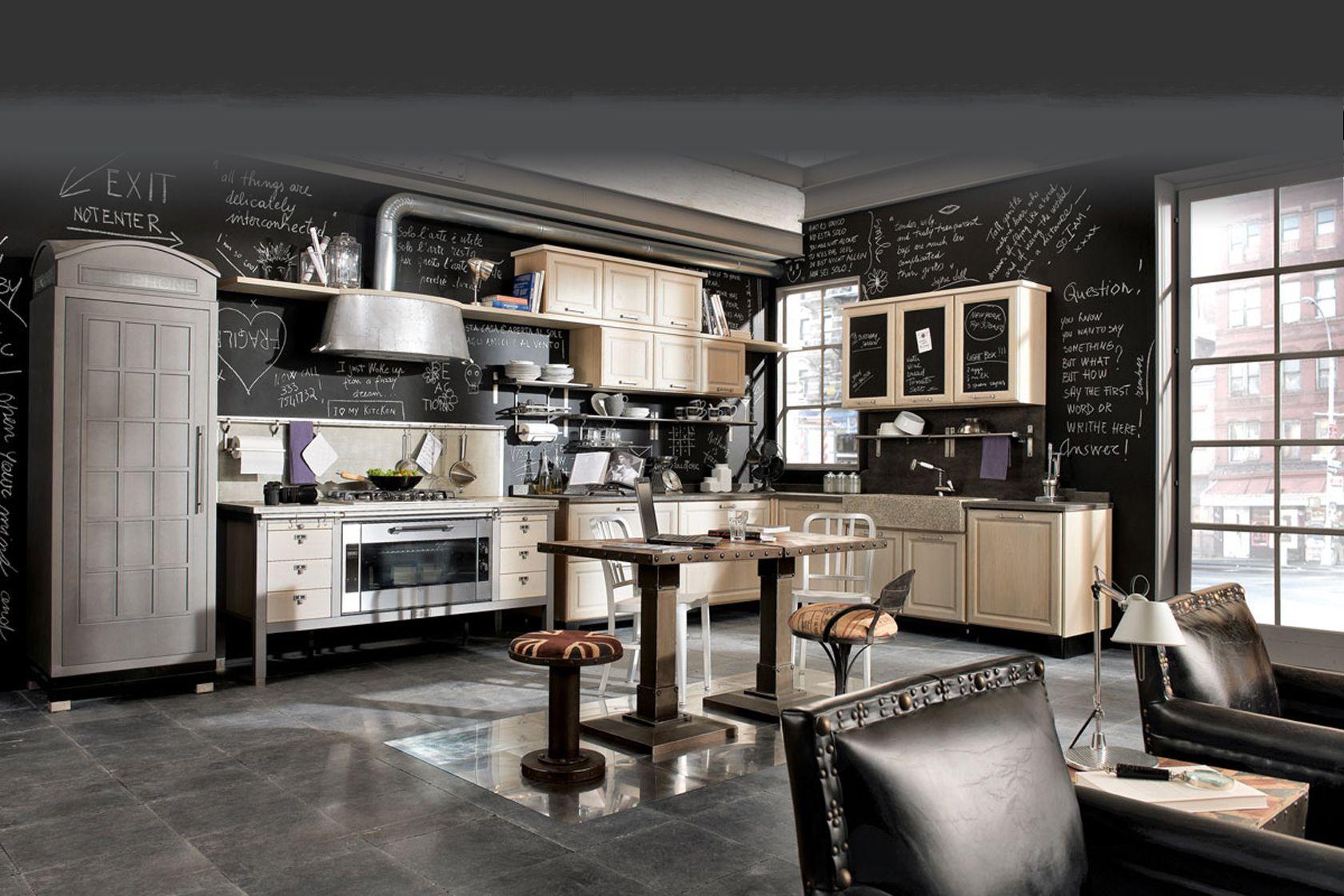 Cucine In Stile Country Dal Tocco Industrial Della Linea Vintage