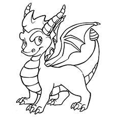 spyro the dragon coloring pages  jesyscioblin