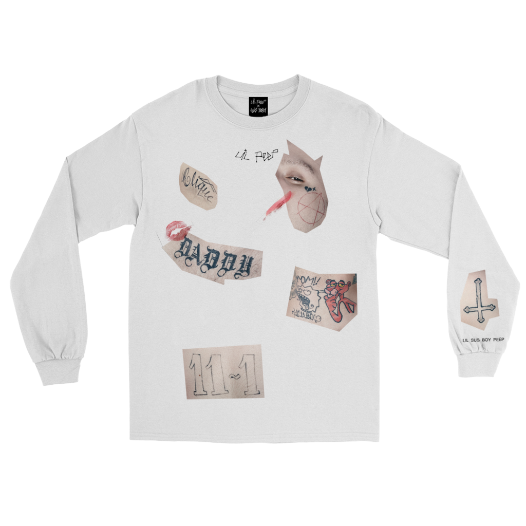8cb35c0a Lil Peep x Sus Boy Limited Edition Longsleeve | clothes | Mens tops ...