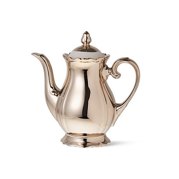 Baroque coffee pot - REICHENBACH - Dining room - Home & Leisure -... (€190) ❤ liked on Polyvore featuring home, kitchen & dining, serveware, fillers, tea, food, accessories and reichenbach