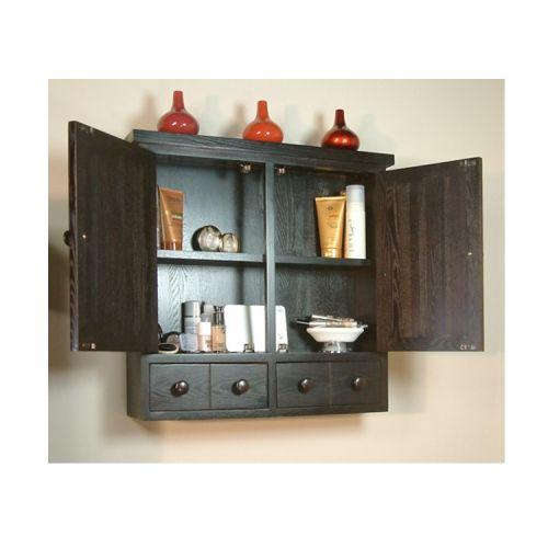 toilet cabinet walmartcom belle foret linen bathroom cabinet in dark cherry - Bathroom Cabinets Walmart