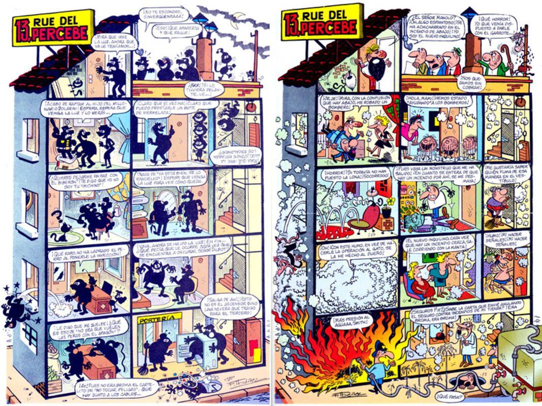 Páginas de \'13, rue del percebe\'   Comic   Pinterest