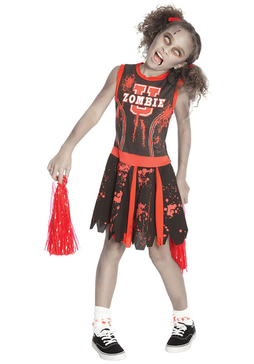 Pin by nessa kristy on heyaa pinterest children costumes undead zombie university cheerleader child costume halloween at escapade uk solutioingenieria Gallery