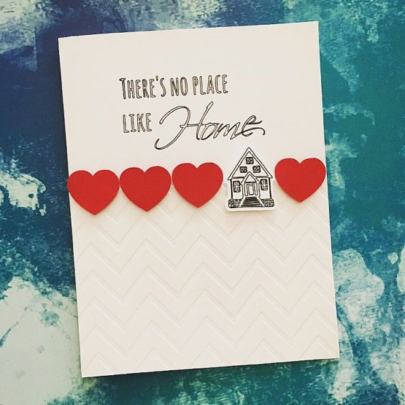 Housewarming/New Home Card  No Place Like Home by PrettyWittyPaper