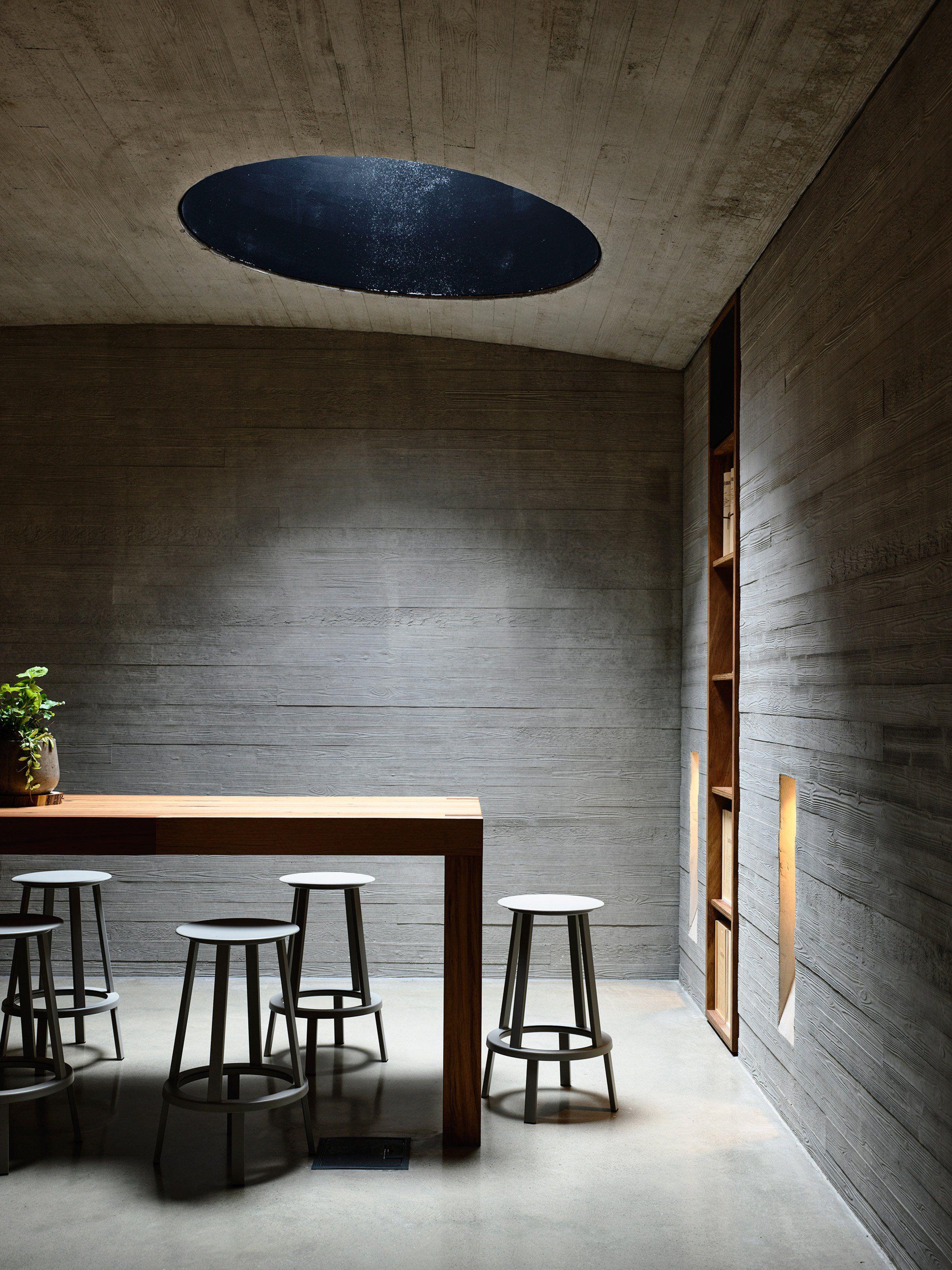 Kerstin thompson adds underground tasting room to australian winery