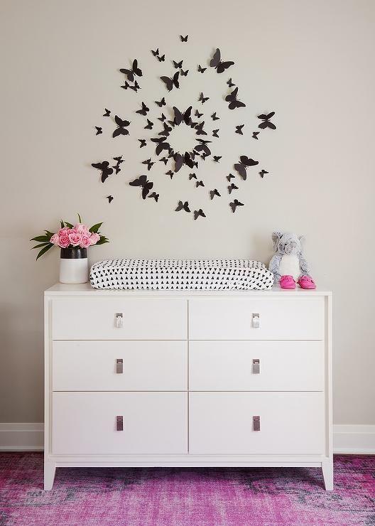 Art over dresser changing table   Nursery For Girls   Pinterest ...