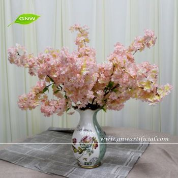 Gnw Blb Ch1605016 Hot Selling Best Quality Pink Single Cherry Blossom Branches For Wholesale Cherry Blossom Branch Artificial Flowers Blossom