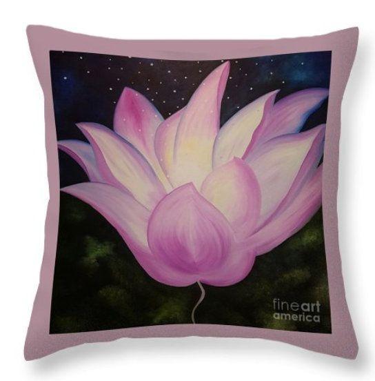 Flower Throw Pillow Pink Pillow Flower Accent Pillow Pink Flower Pillow Pink Floral Pillow Cool Flower Flower Throw Pillows Pillows Flowers Pink Cushions
