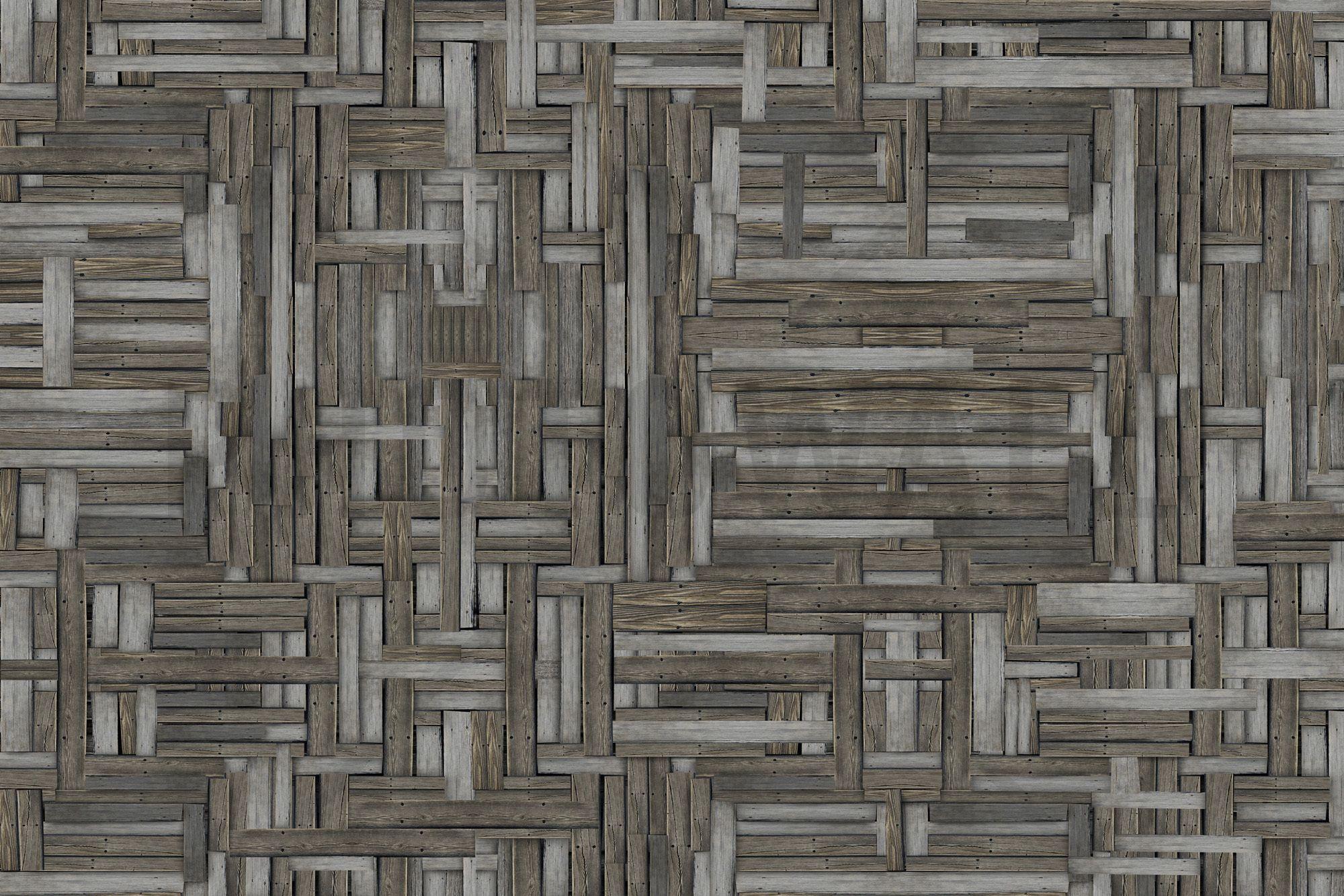 Old Wood Patterns - Tapetit / tapetti - Photowall