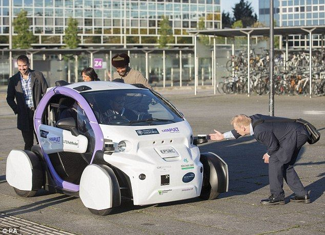 Driverless cars to be tested on UK streets for the first time: 'Pods' will navigate Milton Keynes' roundabouts | Daily Mail Online