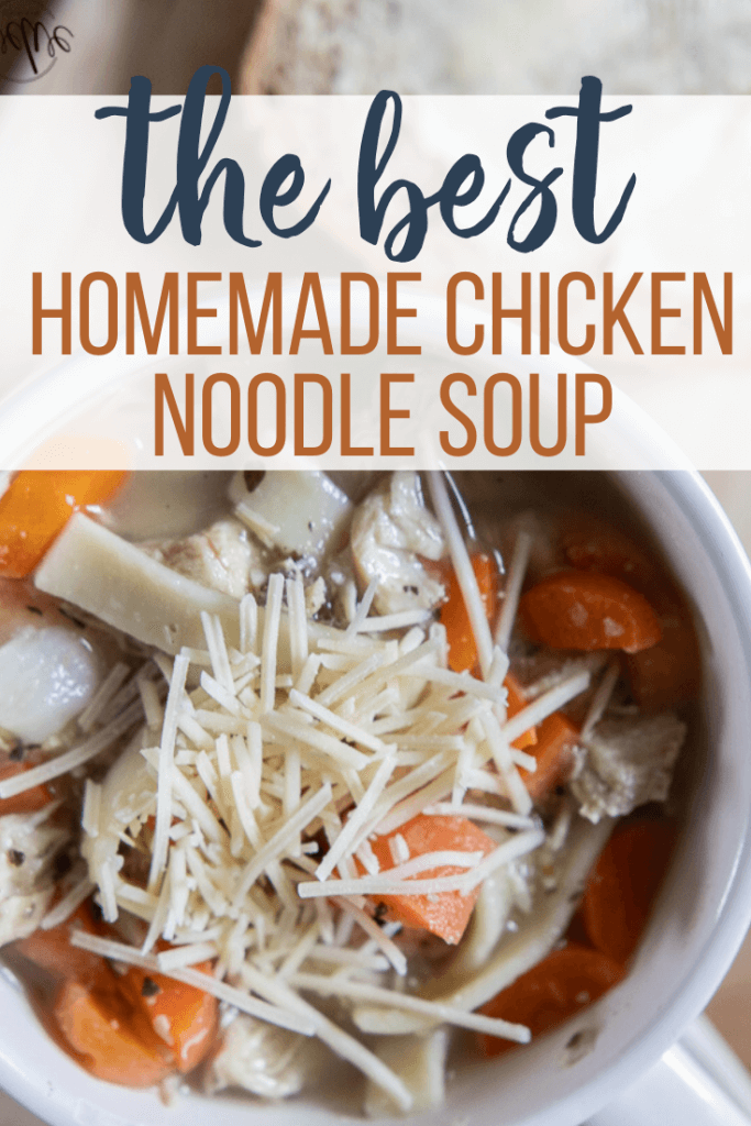 My Flavorful Homemade Chicken Noodle Soup Recipe - Twelve On Main