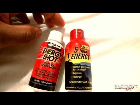 5 hour energy vs