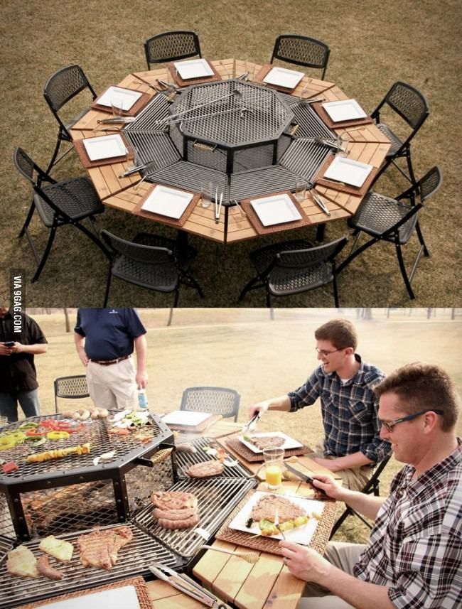 Best BBQ table ever!