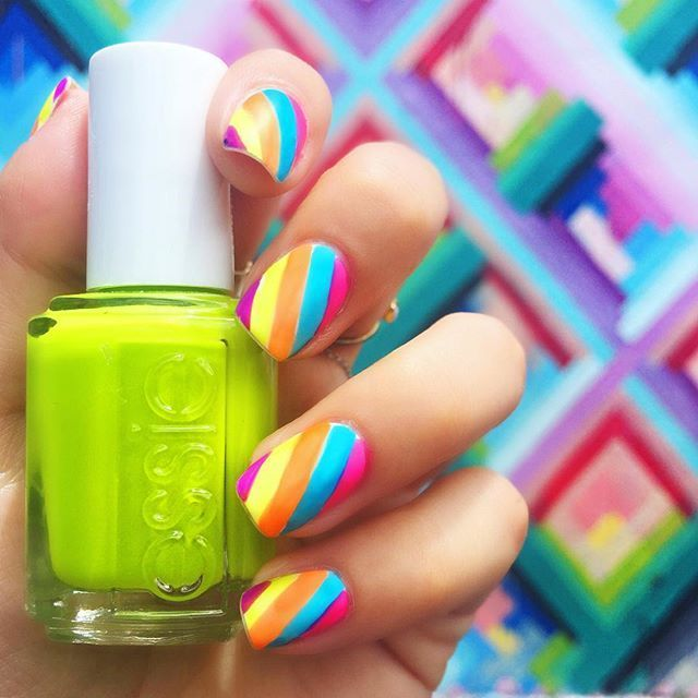 Bright Essie Creations | Nails XVII | Pinterest | Essie nail colors ...