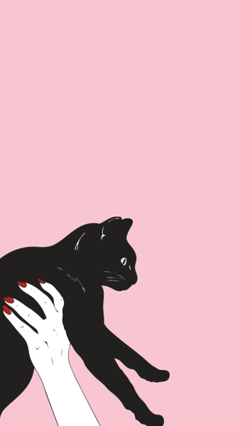Wallpaper Iphone Pink Tumblr Iphone Wallpaper Cat Cat Wallpaper Cat Art