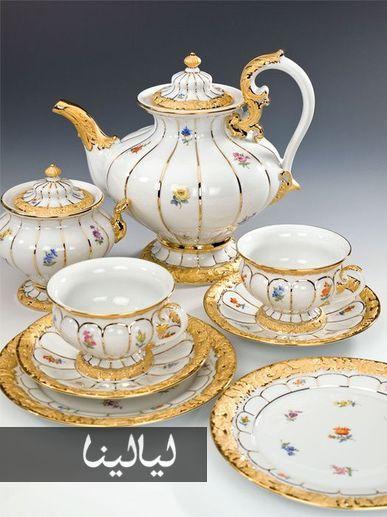 أطقم شاي كلاسيكية فاخرة ستقع والدتك في غرامها موقع ليالينا Tea Tea Cups Vintage Tea Pots Vintage