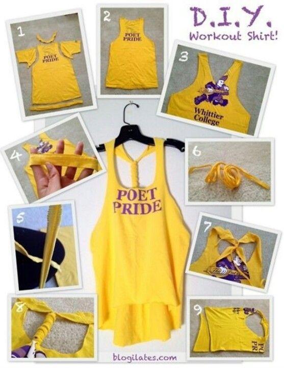 Diy shirt diy projects pinterest diy shirt diy clothes and craft diy clothing solutioingenieria Images