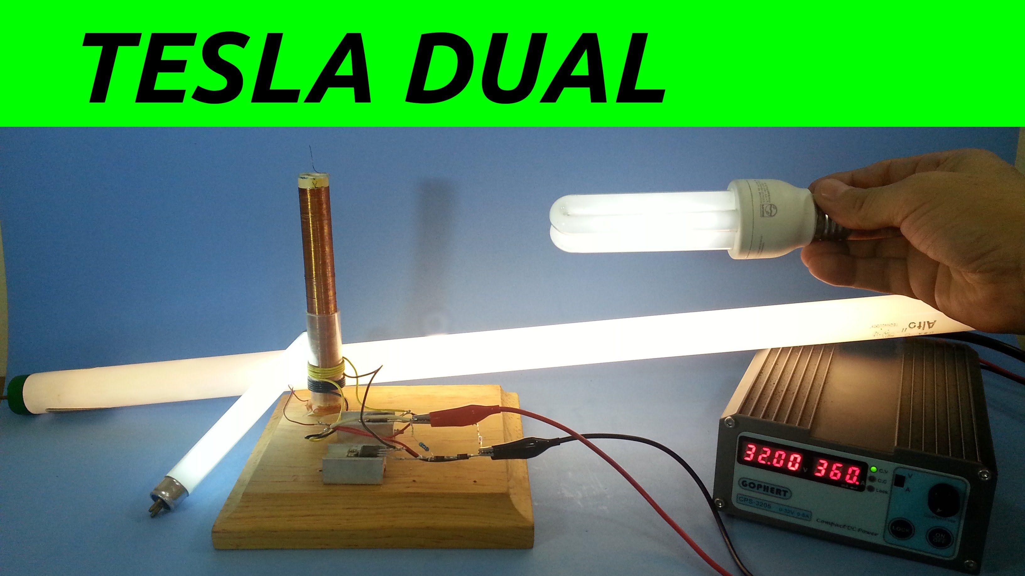 Bobina Tesla Slayer Potenciada Con Doble Primario Bobina De Tesla Tesla Proyectos Electricos