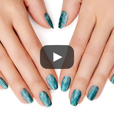 turquoise treasure by essie - this textured, timeless look can be rocked anytime.