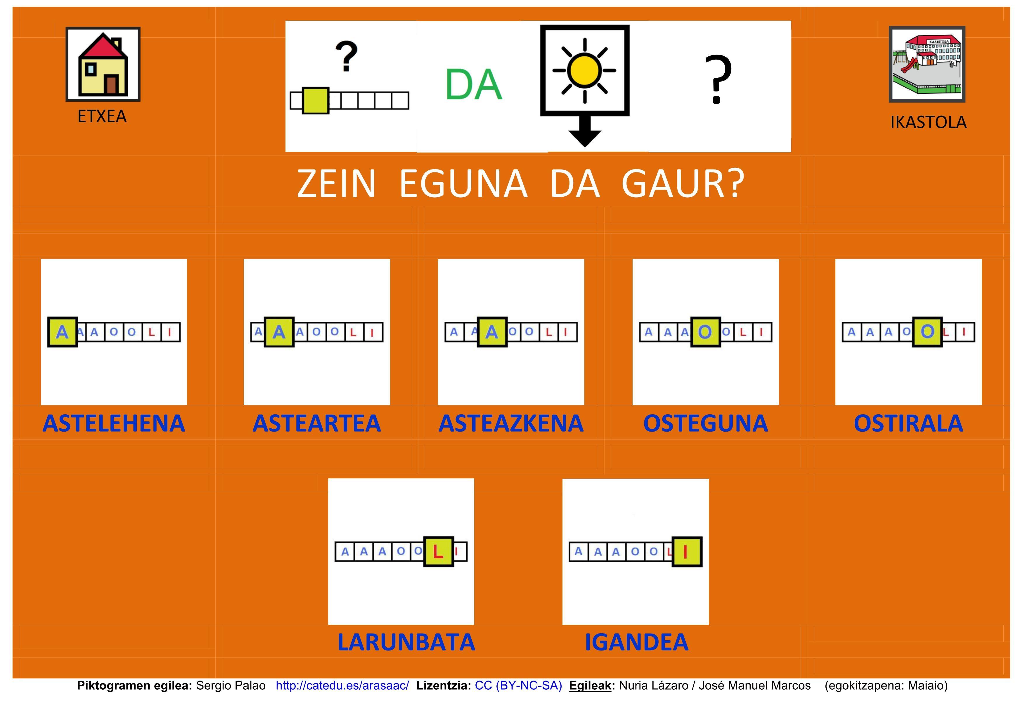 Adaptación En Euskera De Tablero De Comunicación Arasaac Http Informaticaparaeduca Tableros De Comunicación Material Didactico Matematicas Euskera Aprender
