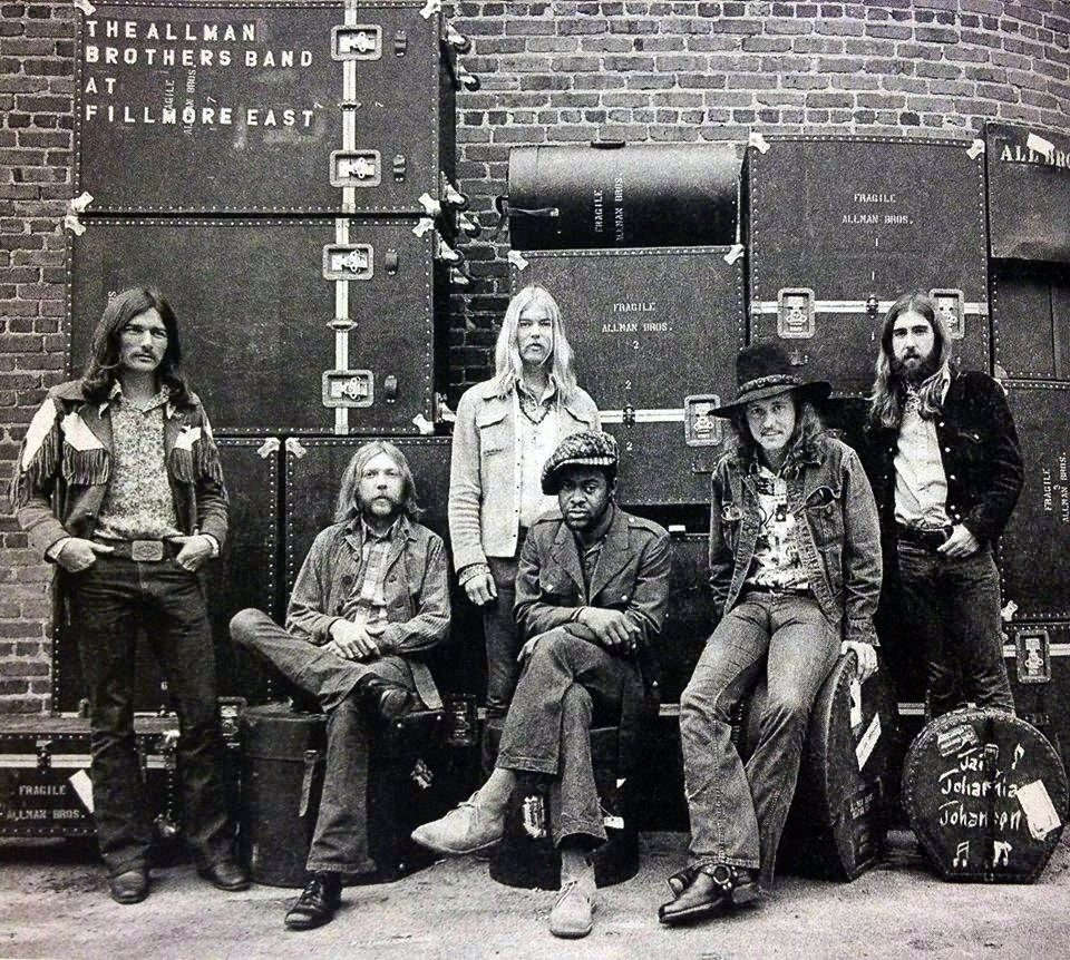 Ot Rip Gregg Allman Allman Brothers Band Allman Brothers Southern Rock