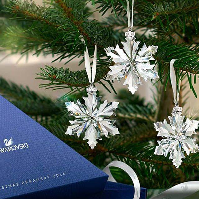 Swarovski Decorazione Natale 2014
